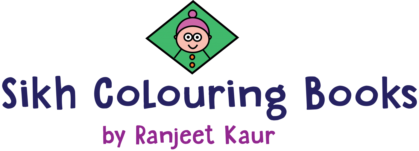 Sikh Colouring Books by Ranjeet Kaur